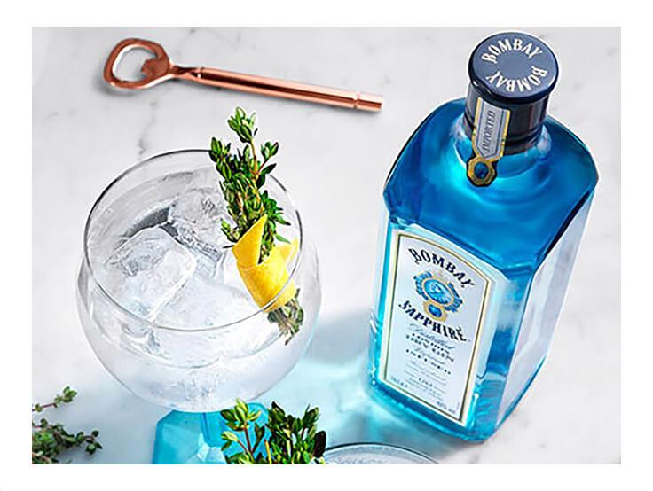 Gin Saphire Bombay