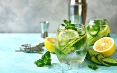 Receita de Gin clássico com pepino