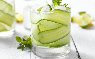 Aposte em um Gin tônica com pepino, limão e gengibre