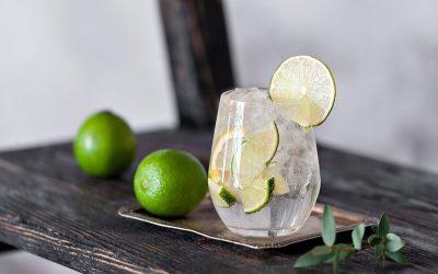 Caipirinha de Gin com geléia de grapefruit: ótima para o happy hour